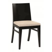 Taylor side chair RFU seat & veneer back raw