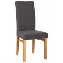 Holly side chair RFU seat & back raw