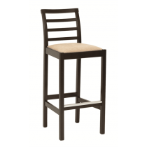 Anna bar stool RFU seat & back raw