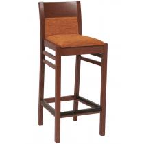 Coco bar stool RFU seat & back raw