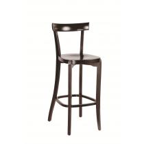 Bon bar stool veneer seat raw