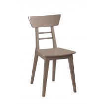 Heidi side chair veneer seat raw