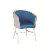 Fiona tub chair RFU seat & back raw