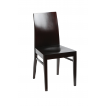 MILANO 2 OAK SIDE CHAIR RFU SEAT RAW