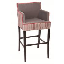 Jane bar chair RFU seat & back raw