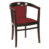 Cheltenham armchair RFU seat & back raw