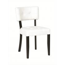 Francesca side chair RFU seat & back raw