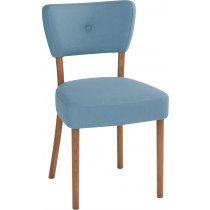 Peggy side chair RFU seat and back raw