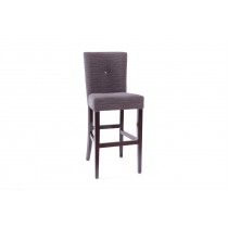Catherine bar stool RFU seat and back raw