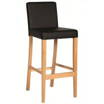Hannah bar stool RFU seat and back raw