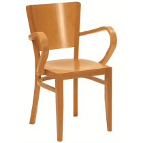 Oregon armchair veneer seat and back raw