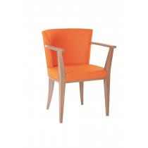 Harper armchair RFU seat and back raw