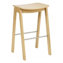 Croxley high stool veneer seat raw