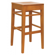 Clarke high stool frame only raw
