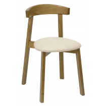 Turnham stacking side chair RFU seat & back raw