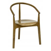 Chesham armchair veneer seat raw