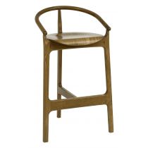 Chesham bar chair veneer seat raw