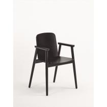 Pinner armchair veneer seat & back raw