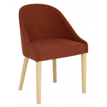 Lambeth armchair RFU seat & back raw