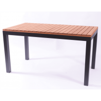 PIER DINING TABLE OILED ANTH 1200X750mm