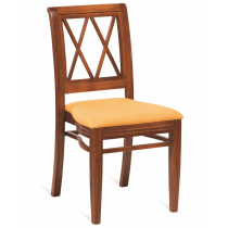 Washington diamond stacking side chair RFU seat raw