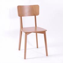 Strada side chair veneer seat & back raw