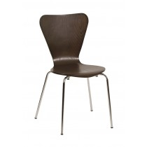 VENUS SP SIDE CHAIR BEECH PLY WENGE