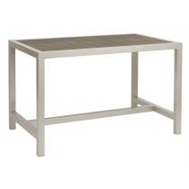 BREW EZICARE RECT TABLE GREY 1200X750mm