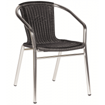 CATALINA STK ARMCHAIR WEAVE STBK