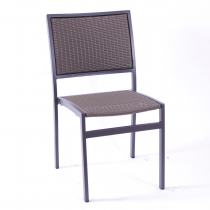 VILLA STK SIDE CHAIR WEAVE ANTHR