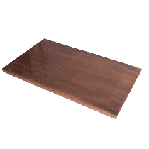 38MM COPPER TOP 1200X700mm RECT