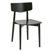 Tori side chair veneer seat & back raw