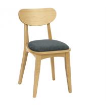 Morden side chair RFU seat & veneer back raw
