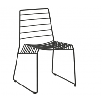 Ebb side chair black