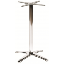 BREEZE LG 4 LEG BASE STAIN STEEL POL BAR