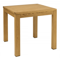 Quad square bar table 800 x 800mm