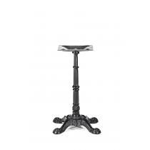 BISTRO ALL WEATHER SMALL 4 LEG BLACK DINING