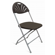 CONCERT FOLDING SIDE CHAIR CHARCOAL STBK