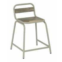 TUBE SIDE CHAIR GREY
