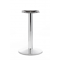 OXTON COMP SM RD BASE CHROME DINING