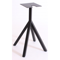 STACK SMALL 4 LEG BASE BLACK DINING