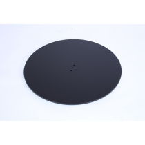 ZETA MEDIUM THIN FIX ROUND BASE BLACK
