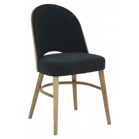 Bruno side chair RFU seat & back raw