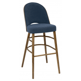 Bruno bar stool RFU seat & back raw