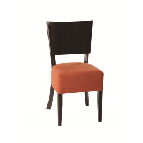 Rebecca side chair RFU seat veneer back raw