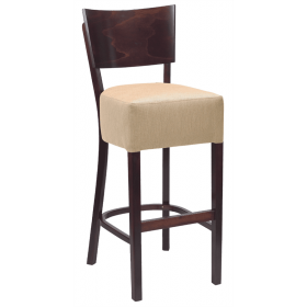 Rebecca bar stool RFU seat veneer back raw
