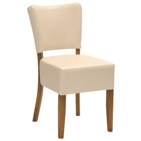 Oregon deep seat side chair RFU seat & back raw