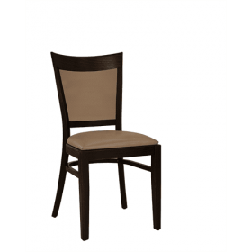 Ripon stacking side chair RFU seat & back raw