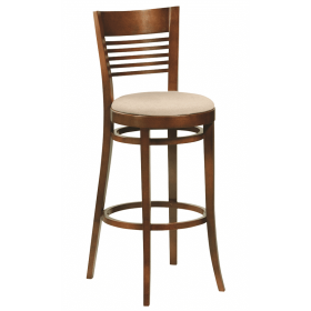 Rose bar stool RFU seat raw