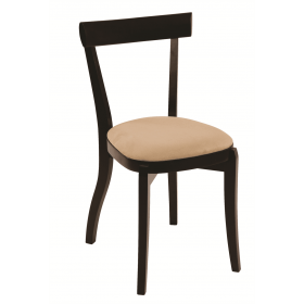 Bon side chair veneer seat raw